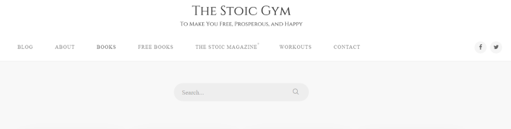 The stoic gym