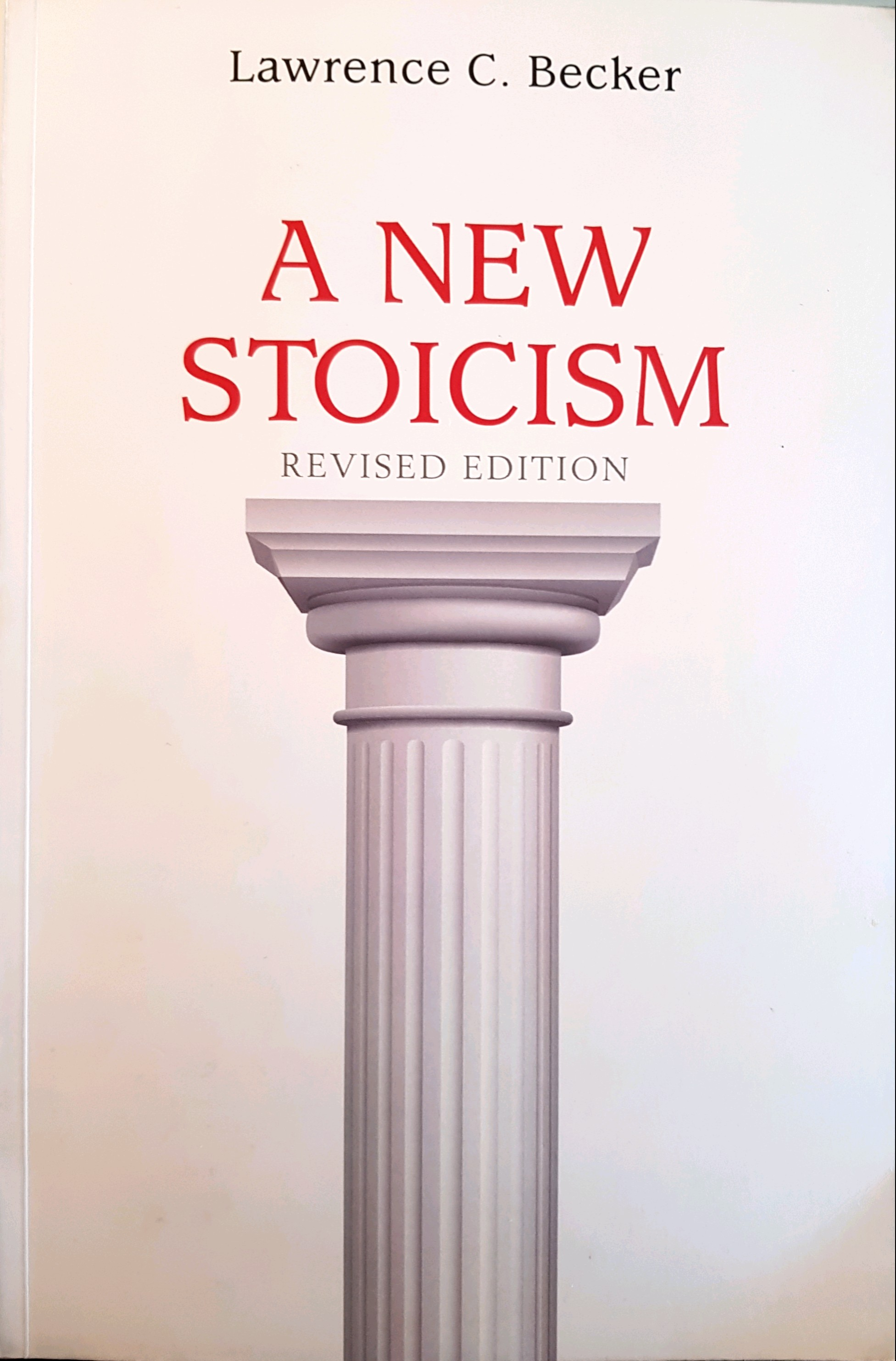 Stoicism Lawrence Becker
